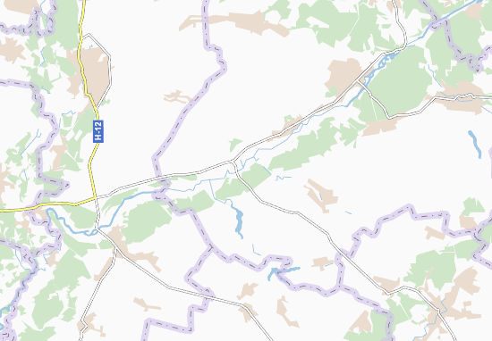 Carte-Plan Zubivka