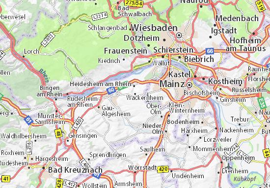 Carte-Plan Wackernheim