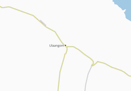 Kaart Plattegrond Ulaangom