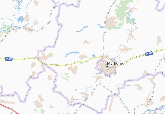 Mapas-Planos Shakhvorostivka