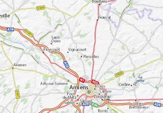 Mapa Plano Flesselles