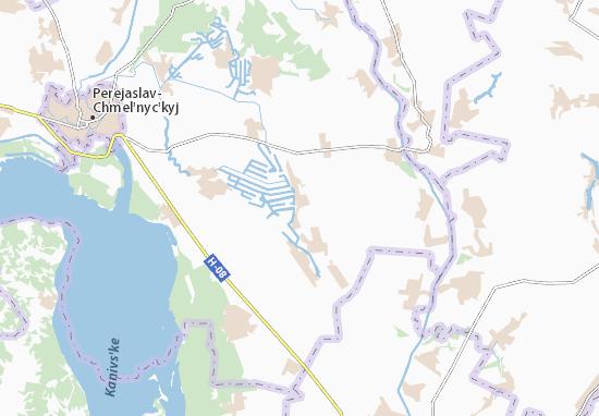 Mappe-Piantine Polohy-Verhuny