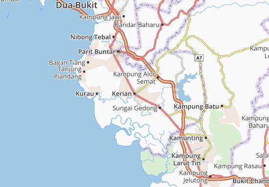 Kerian Map