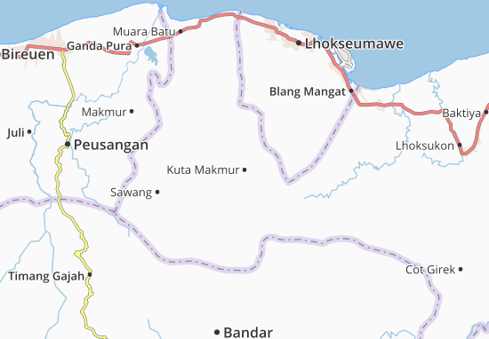 Mappe-Piantine Kuta Makmur