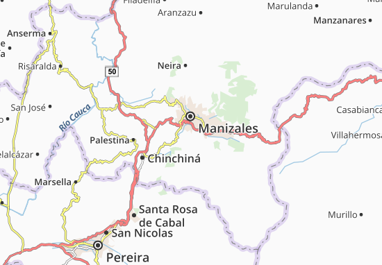 Mapas-Planos Villamaría