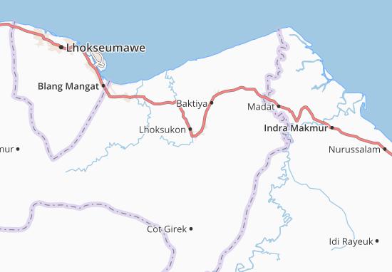 Mappe-Piantine Lhoksukon