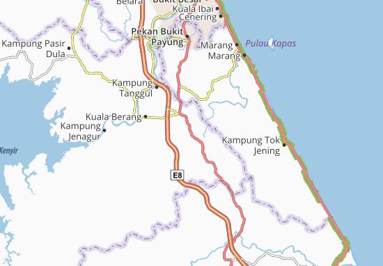 Kampung Bukit Penghulu Diman Map