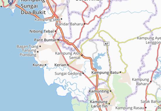 Mapas-Planos Kampung Alor Semat
