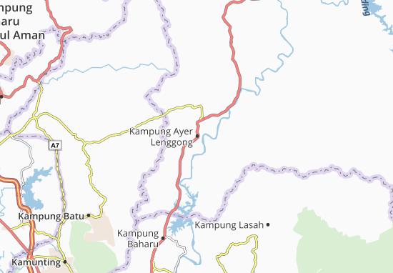 Kampung Ayer Lenggong Map