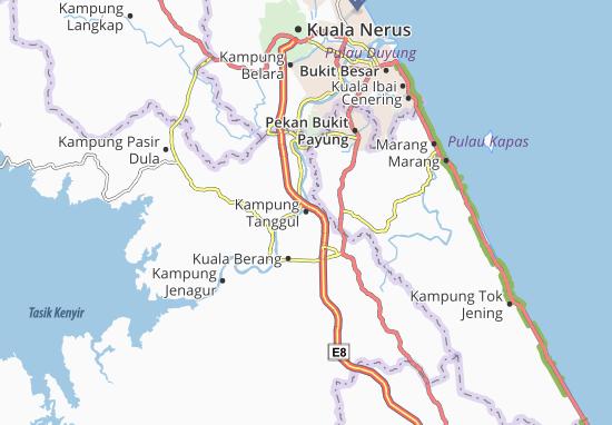 Kampung Tanggul Map