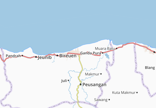 Carte-Plan Peusangan