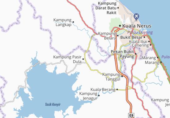 Mapas-Planos Kampung Pasir Dula
