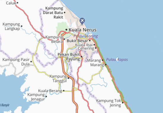 Pekan Bukit Payung Map