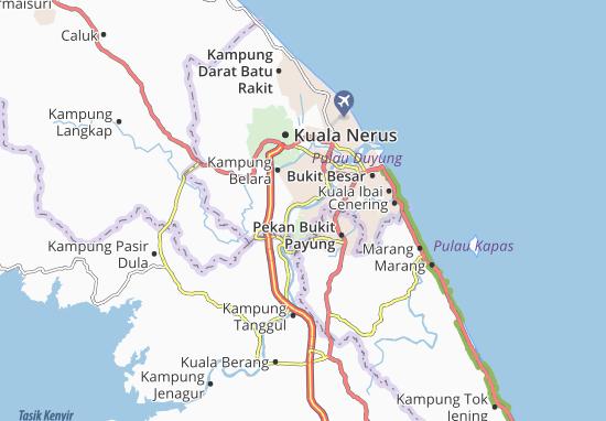 Kampung Serada Map