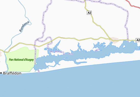 Carte-Plan Nigui Nanon