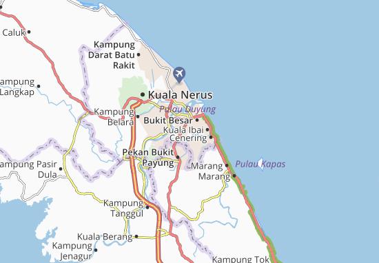 Gelugur Raja Map