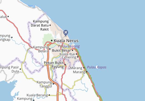 Bukit Besar Map