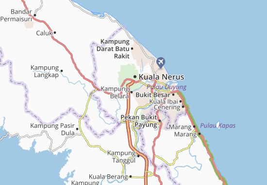 Kampung Belara Map