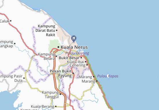 Mappe-Piantine Kuala Terengganu