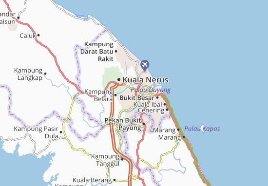 Kampung Kubang Jela Map
