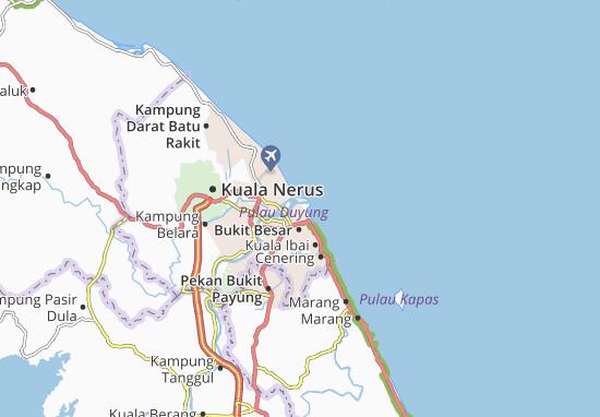 Bandar Kuala Terengganu Map