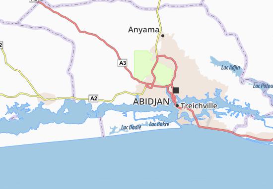 Carte-Plan Adiapo-Doumé