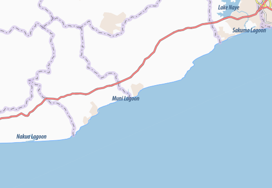 Mapa Plano Winneba