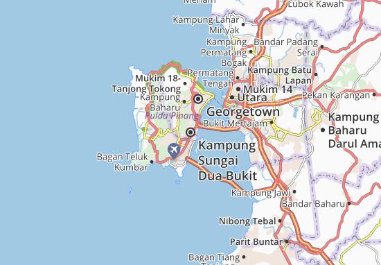 Mapas-Planos Kampung Sungai Dua Bukit