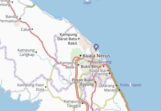 Kuala Nerus Map