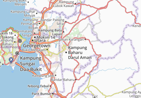 Mapas-Planos Kampung Baharu Darul Aman