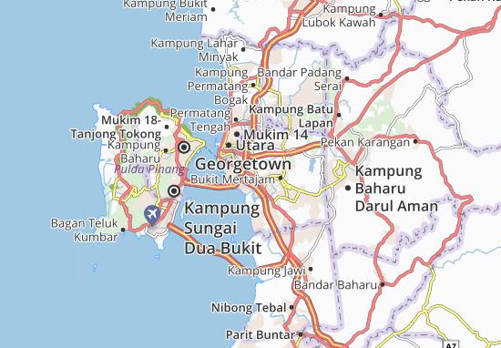 Mapas-Planos Kampung Setol