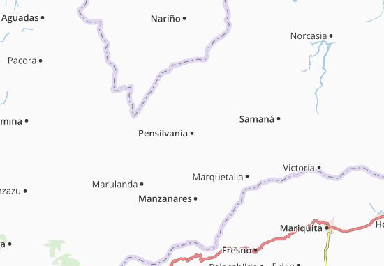 Mappe-Piantine Pensilvania