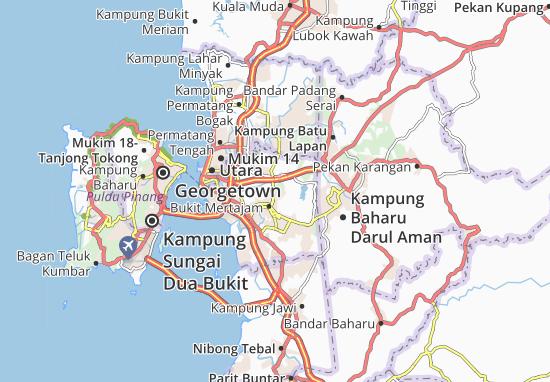 Mapas-Planos Kampung Tok Elong