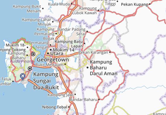Mapas-Planos Kampung Keladi
