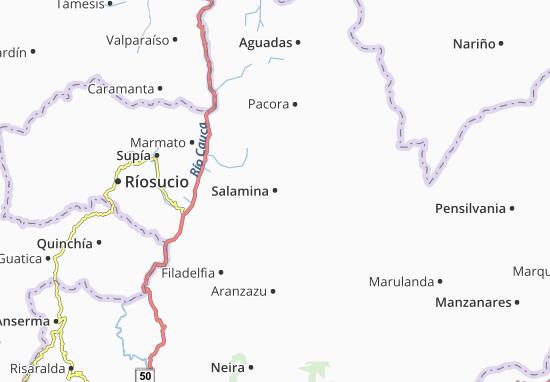 Salamina Map