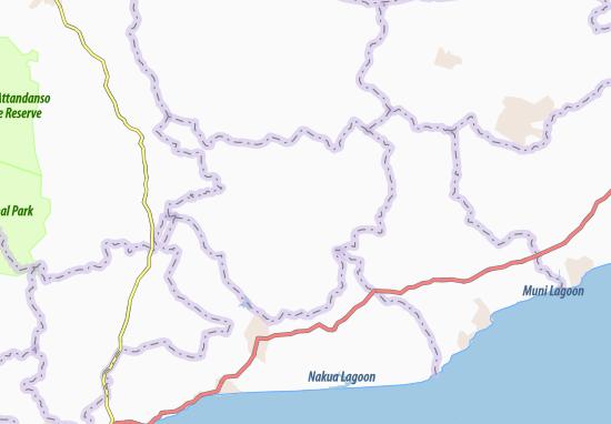 Kaart Plattegrond Ajumaku