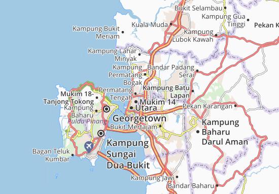 Mapas-Planos Kampung Manggis