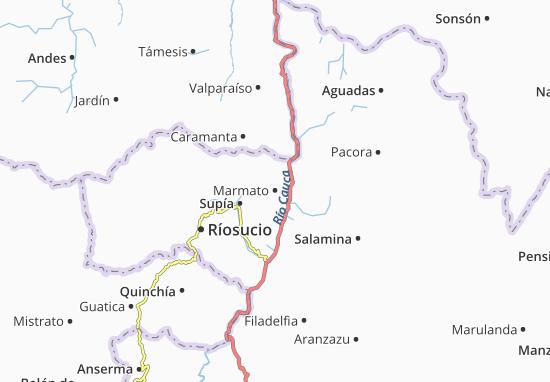 Marmato Map
