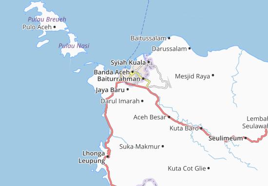 Banda Raya Map