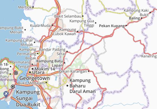 Mapas-Planos Kampung Padang Meha