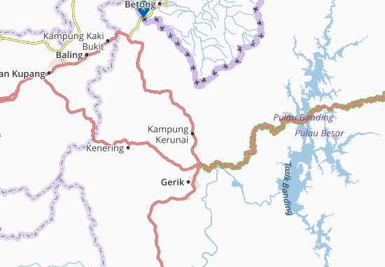 Mappe-Piantine Kampung Kerunai