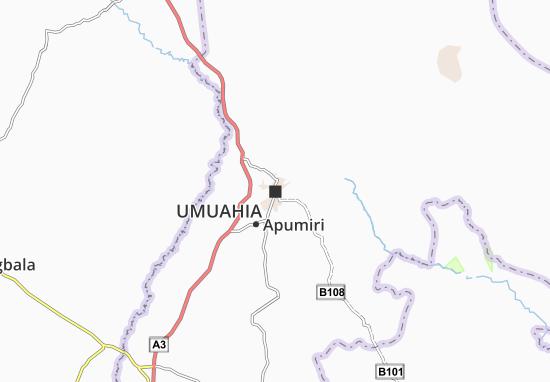 Carte-Plan Umuahia