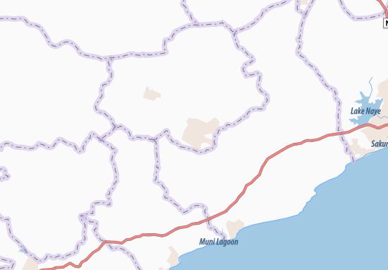 Agona Swedru Map