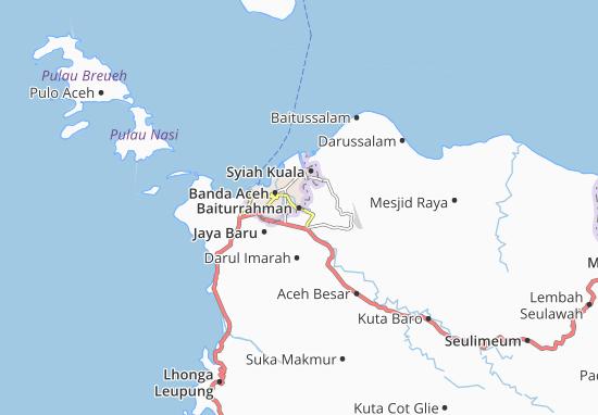 Baiturrahman Map