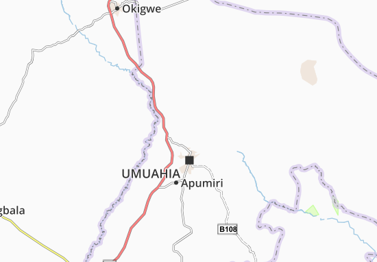 Carte-Plan Afor-Ugiri