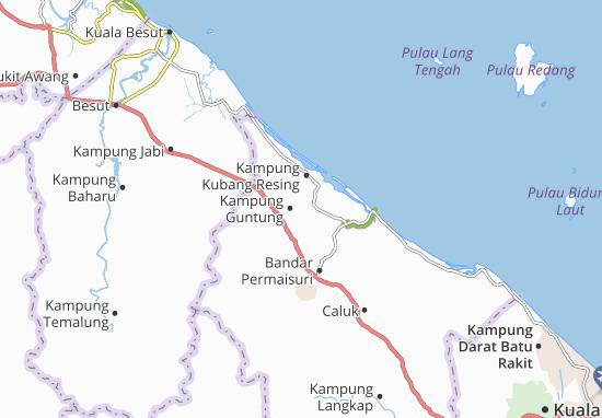 Mapas-Planos Kampung Guntung