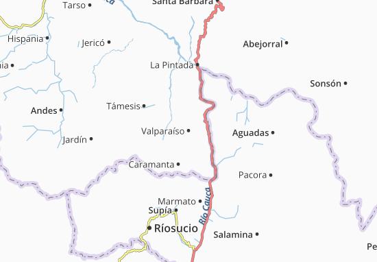 Carte-Plan Valparaíso