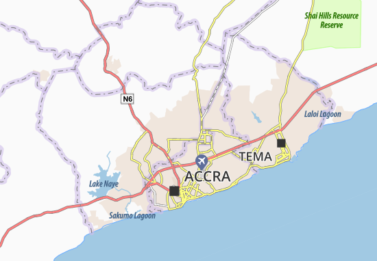 Mapa Plano Agboogba