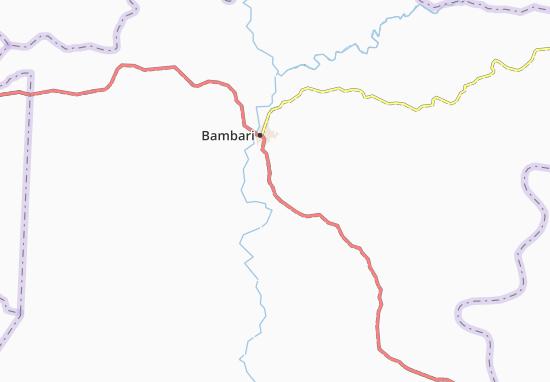 Carte-Plan Ouanenga