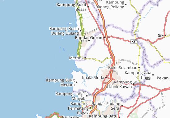Mapas-Planos Merbok